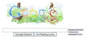 Darwin Google Logo
